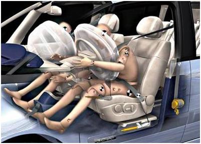 汽车安全带发条